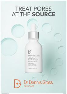 Dr. Dennis Gross Alpha Beta Pore Perfecting & Refining Serum 2019 A4 Skylt