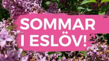 Välkommen när vi presenterar årets Sommar i Eslöv den 5 juni