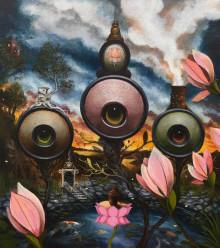 Vernissage på Galleri Ulfsunda – Den Magiska Trädgården av Gunnar Foley