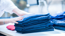 Ny strategi för cirkulära hyrtjänster minskar textiliers klimatpåverkan