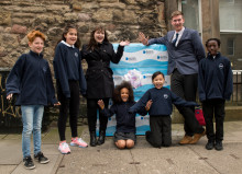 Newington pupils get a lesson with fibre broadband