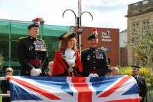 Mayor joins Bury tribute on Gallipoli parade