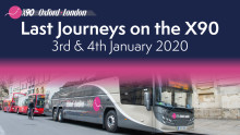 OXFORD BUS COMPANY TO COMMEMORATE X90 ON LAST DAY OF SERVICE