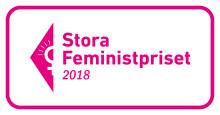 Stora feministpriset i rösträttens tecken