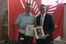 Ambulance innovator wins the Sophus Falck Medal of Honour