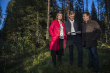 Närings- och innovationsministern besökte plats för batterifabrik i Skellefteå