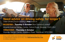 Older Drivers Forum host free events in the Thames Valley region