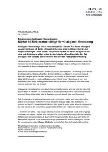 Bobarometern: Närhet till föräldrarna viktigt för villaägare i Kronoberg