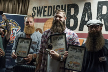 Han har Sveriges snyggaste skägg!