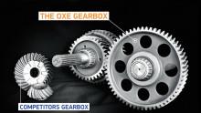 The OXE Diesel - Heavy duty designed gearbox