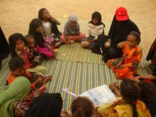 Många barn offer för våldet i Jemen