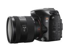 Da Sony in arrivo le fotocamere α77 e α65 con risoluzione di 24,3 megapixel e scatto continuo con AF a 12 fps