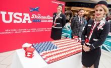 Norwegian lidera el tráfico entre Barcelona y Estados Unidos y ya es tercera en España.