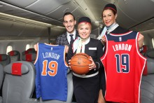 Norwegian named presenting partner of NBA London Game 2019