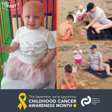 #ChildhoodCancerAwarenessMonth: How we are helping baby Grace and her family bounce back to normality…