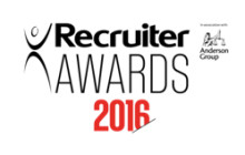 Finegreen shortlisted for Agency of the Year at the Recruiter Awards 2016!