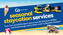 Go North East set to launch seasonal services to give the staycation market a boost