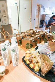 Starbucks bjuder på kaffe och kaka på Södersjukhuset