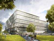 Moderna byggsätt när Ebab utvecklar ett av Sveriges modernaste sjukhus