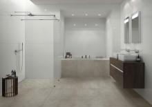 Villeroy & Boch Fliesen, nouveautés 2020 - FALCONAR : Look de béton, fines structures de filets et décors géométriques -Un concept de carreaux pour murs et sols comme symbiose parfaite entre la technologie et le design