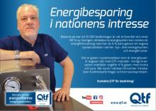 Vi sitter på en metod som förhindrar energiförluster och funktionsproblem