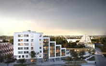 Nya Campus Albano blandar undervisning och bostäder