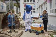 dm-Marke babylove spendet 150.000 Euro an die Kinderhäuser BLAUER ELEFANT® des Kinderschutzbundes