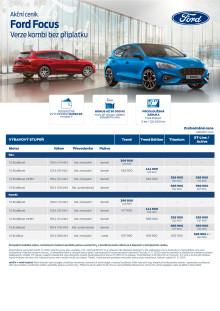 Ceník Ford Focus