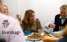 Korshags bidrar till fler minnesvärda måltider
