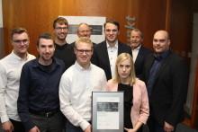 Jungakademiker der Technischen Hochschule OWL Lemgo erhalten Energy Award 2019
