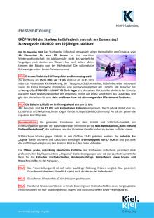 Stadtwerke Eisfestival feiert 20. jähriges Jubiläum - Eröffnung mit Eisdisco am 15.11.