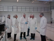 European Commission- LIFE Project, visits NLAB Solar's Pilot Plant