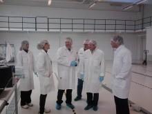 European Commission- LIFE Project, visits NLAB Solar's Pilot Plant