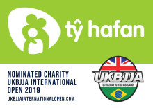 UKBJJA in fundraising drive for Ty Hafan Welsh Children's Hospice