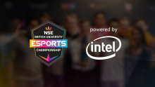 NSE and Intel announce strategic, long-term partnership for second season of the British University Esports Championship