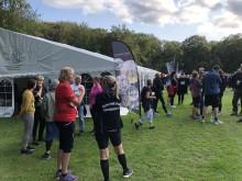 Et aktivt liv - sammen: Over 600 medarbejdere fra Rebild Kommune deltog i årets Triatlandløb