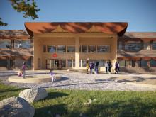 Nu startar Stena Fastigheter ombyggnaden av Fisksätra skola