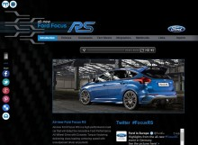 Ford Focus RS press kit