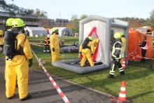 Übung: 25 Verletzte nach Chlorgasaustritt
