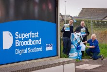Digital Scotland Superfast Broadband is Up your Street in Inverkeilor