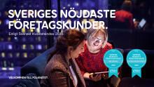 Telia försvarar topposition – nöjdast företagskunder för bredband enligt SKI