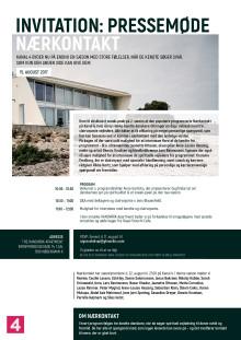 Invitation: Pressemøde Nærkontakt