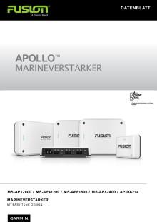 Datenblatt Garmin FUSION Apollo Verstärker