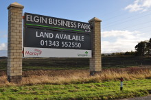 Approval for Elgin business park framework