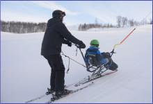 Opphold vinteraktivitetshjelpemidler for barn/unge februar 2017.