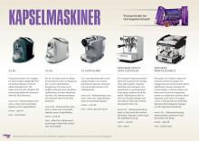 Kapselmaskiner och kapselsortiment