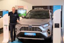 Folke-SUVen RAV4 er klar for lansering på Leknes
