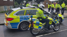 367 vehicles stopped as officers crack down on county lines dealers in south London