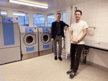 Stena Fastigheter testar produkt som tar bort miljöfarliga mikroplaster vid tvätt