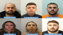 Organised Crime Network jailed for drugs offences